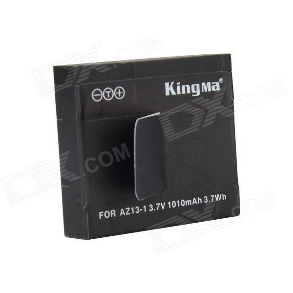 Kingma 1010mAh Li-ion Battery for AZ13-1 Xiaomi Xiaoyi Camera - Black
