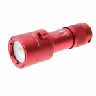 UltraFire DV-R20 4-LED White Light + 2-LED Red Light Diving Flashlight / Shooting Support Lamp - Red