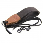 LC007 Casual Camera Canvas Strap Belt - Brown + Black