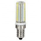 E14 4W 280lm Cold White Light 104-LED Lamp Bulb (110V / 220V, 2 PCS)