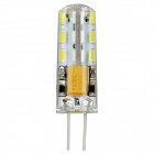 exLED G4 1.5W 6000K 90lm 24-SMD 3014 LED White Light Bulb (12V)