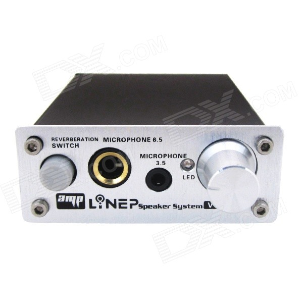 how to connect amplifier to pc for recording