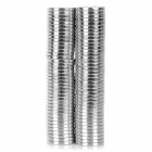 NdFeB N35 Round Magnets - Silver (12*1.5mm / 80PCS)