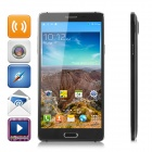"N9500 MTK6582 Quad-core Android 4.4.2 WCDMA Smart Phone w/ 5.7"" IPS HD,8GB, 5.0MP,Dual-SIM - Black"