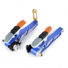 AEST YVB76A-01 Replacement V Brake Set for MTB Mountain Bike - Blue