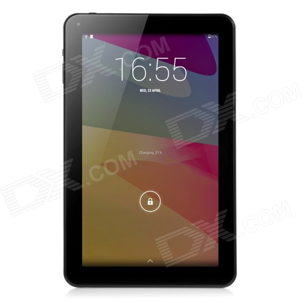 "10.1"" A83T octa-core android tablet 1GB RAM, 16 GB ROM - wit + zwart"