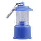 Handy Portable White Light LED Tent Lamp Keychain for Camping - Blue (3 x AG3)