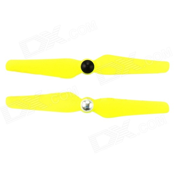 5032 Plastic Self-Locking Propellers - Yellow (Pair)