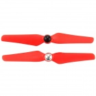 5032 Plastic Self-Locking Propellers Set for Multicopter - Red (Pair)