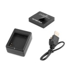 PANNOVO Battery Charger + 1010 mAh Battery for Xiaomi Xiaoyi - Black