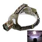 KinFire F4 T6 LED 680lm 3-Mode White Light Outdoor Headlight - Camouflage (2 x 18650)