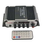 HY-600 Hi-Fi Stereo Audio Amplifier Digital spiller med FM / SD / USB / Controller for bil