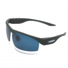 Wireless Rechargeable Music Bluetooth V3.0 + EDR UV400 Protection Smart Sunglasses - Black