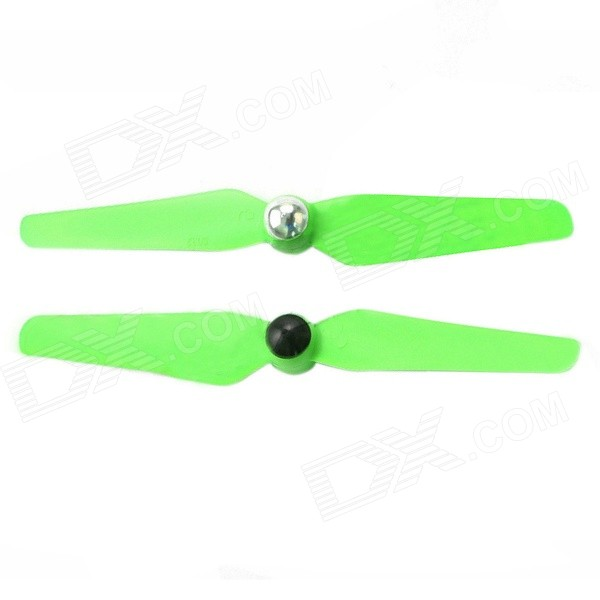 5032 Plastic Self-locking Propeller for Multicopter - Green (Pair)