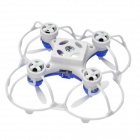 JJRC JJ820 R/C Remote Control 4-CH Gyro Mini Quadcopter - Blue + White