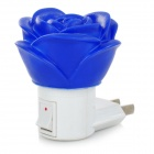 Rose Shaped 0.5W White Light Night Lamp (110~250V / US Plugs)