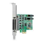 IOCREST pci-e 2-Port RS422 / 485 industri seriell port kort - grønn