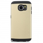USAMS Protective TPU + PC Back Case for Samsung Galaxy S6 / G9200 - Golden