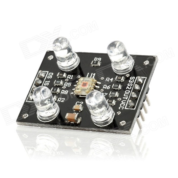 TCS230 Color Sensor Detector Module for Arduino - Black