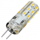exLED G4 220V 1.5W 3000K 100lm 24-SMD 3014 LED Warm White Bulb (2PCS)