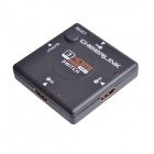 CHEERLINK 3 x 1 3D 1080P Mini HDMI V1.4b Switch - Black