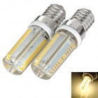 exLED E14 4W LED Lamps Bulbs Warm White 3000K 280lm SMD 3014 (AC 110~220V / 2 PCS)