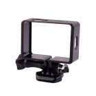 PANNOVO Professional Camera Protective Side Frame Case w/ Mount for Xiaomi Xiaoyi Camera - Black