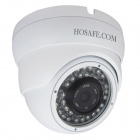 HOSAFE 2MD2W 1080P Dome POE ONVIF Weatherproof Day/Night CMOS IP Camera - White