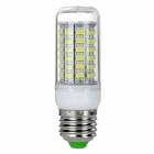 exLED E27 12W 1000lm 69-SMD 5730 LED Bluish White Light Bulb (2PCS)