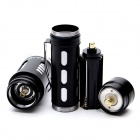 ZHISHUNJIA FB170-T6 900lm 5-Mode White Zooming Flashlight Set - Black