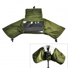 CADEN Protective Chinlon Rainproof Rain Cover for DSLR Camera - Army Green (S)