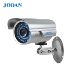 Jooan JA-530YRB-T-3.6 Waterproof HD IR Night Vision CCTV Camera Color Monitor w/ Bracket - Silver