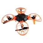 helicmax 4-CH 2.4GHz r / c quadcopter m / 6-Axis - svart + oransje