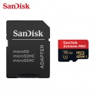 SanDisk 16GB Mobile Extreme Pro 633x Micro SDHC Flash Memory Card - Red (Class 10)