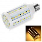 E27 12W LED Mais-Lampen-warmes Weiß 3500K 1100lm SMD 5730 - Weiß + Orange (AC 220 ~ 240V)