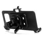 Mini Smile Car Air Outlet Mount Holder for Samsung S6 / G9200 - Black