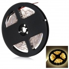 36W 3528 SMD LED Light Strip Warm White 3000K 1100lm - Black + White (5M / DC 12V)