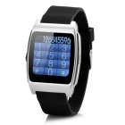 "UX 1.44 ""Screen Bluetooth V3.0 / V4.0 Smart Watch w / NFC / Heart Rate Monitor - Silber"