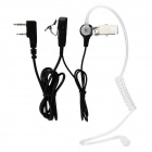 Anti-Radiation Noise Cancelling In-Ear Air Duct Earpiece for Intercom