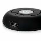 Transmisor de audio H-366T 1-to-2 Bluetooth V4.0 - Negro