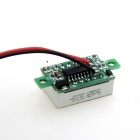 "DIY 0.36"" 3-Digit 2-Wire DC 4.5~30V Green Light LED Digital Voltmeter Voltage Display Module - Green"