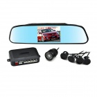 "3.5"" TFT Multi-function Rearview Mirror & Camera + Parking Sensor / Radar Kit (12V)"