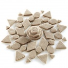 Fun Magic Clay Plasticine Sand Toys for Kids - Earthy