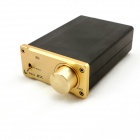 Kemico Digital Hi-Fi Stereo Audio Digital Power Amplifier - Gold + Black
