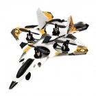 Cheerson CX-12 2.4G R/C Remote Control 4-CH 6-Axis Gyro Mini Quadcopter Warplane Toy - White + Black