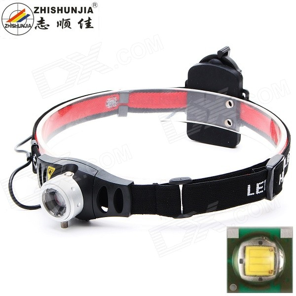 ZHISHUNJIA TK37Q5 Zooming Focusable 300lm LED Headlamp w/ Q5-WC