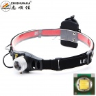 ZHISHUNJIA TK37Q5 Flood-to-Throw Zooming Focusable 300lm LED Headlamp w/ Cree Q5-WC (3 x AAA)