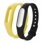 Xiaomi IP67 Android 4.4 Smart Bluetooth V4.0 Wristband Bracelet w/ Tracker - Black + Yellow