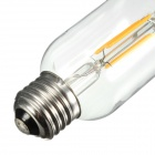 E27 4W 4-COB 400lm Yellow Light Filament Lamp (220V)