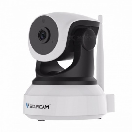 VSTARCAM C7824WIP 720P 1.0MP Wi-Fi  IP Camera - Black (US Plugs)